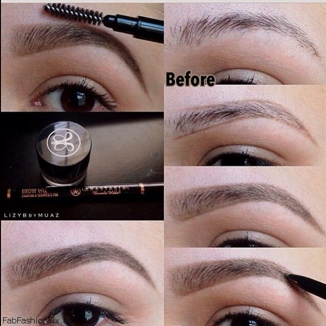 Get How To Shape And Color Eyebrows  PNG