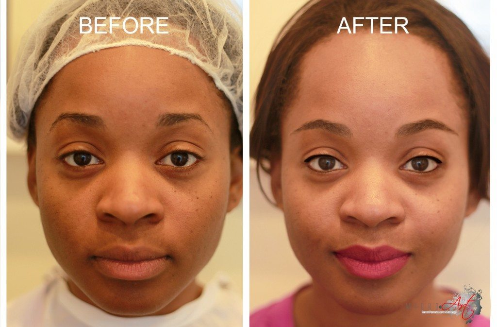 25+ Permanent Eyebrow Tattoo Before And After Healing Pics