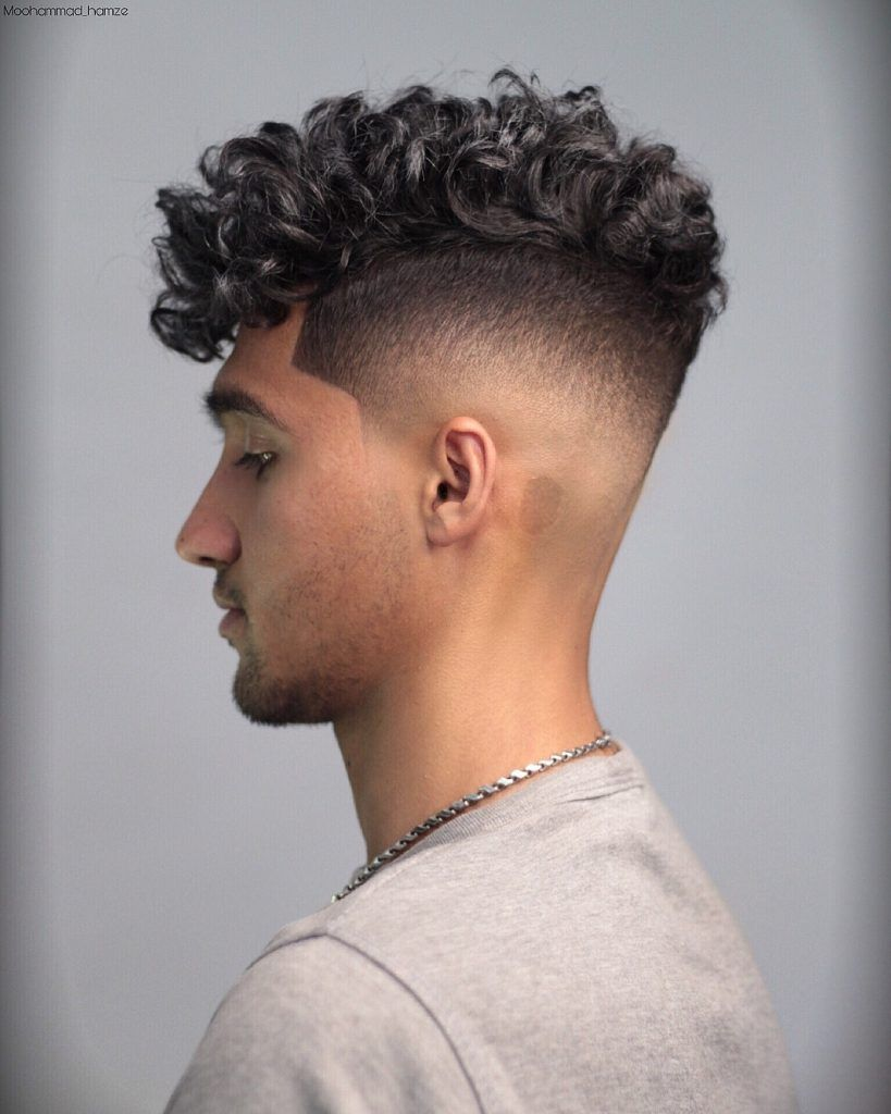 Best Curly Haircuts Men