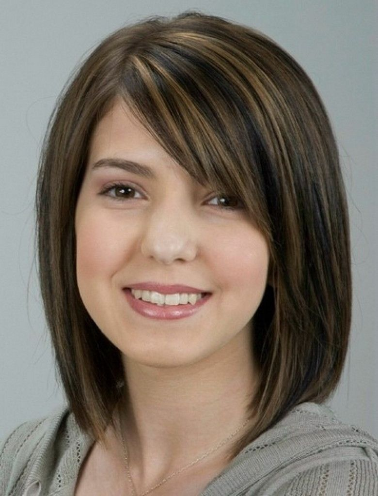 Best Haircut For Thin Hair Round Face Female
