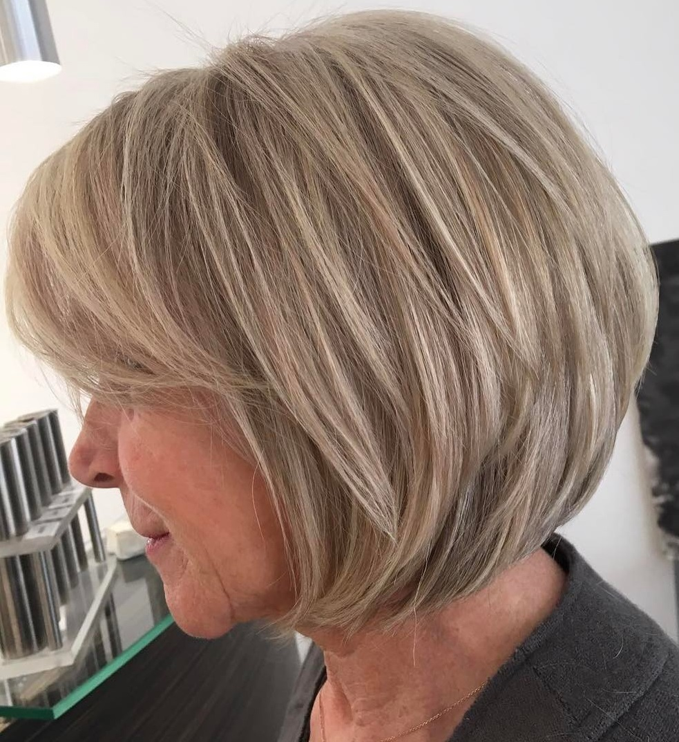 Best Haircuts For Women Over 60 With Fine Hair