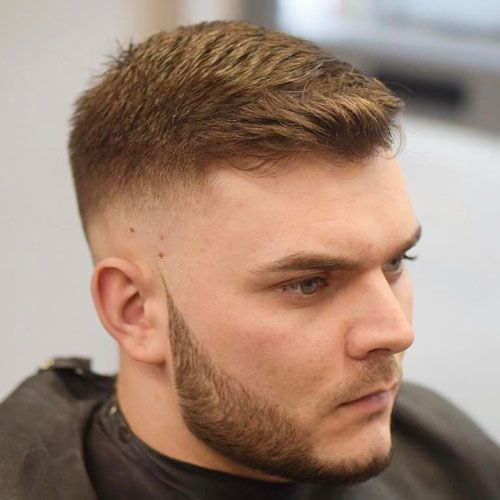 Best Short Haircut For Round Face Male