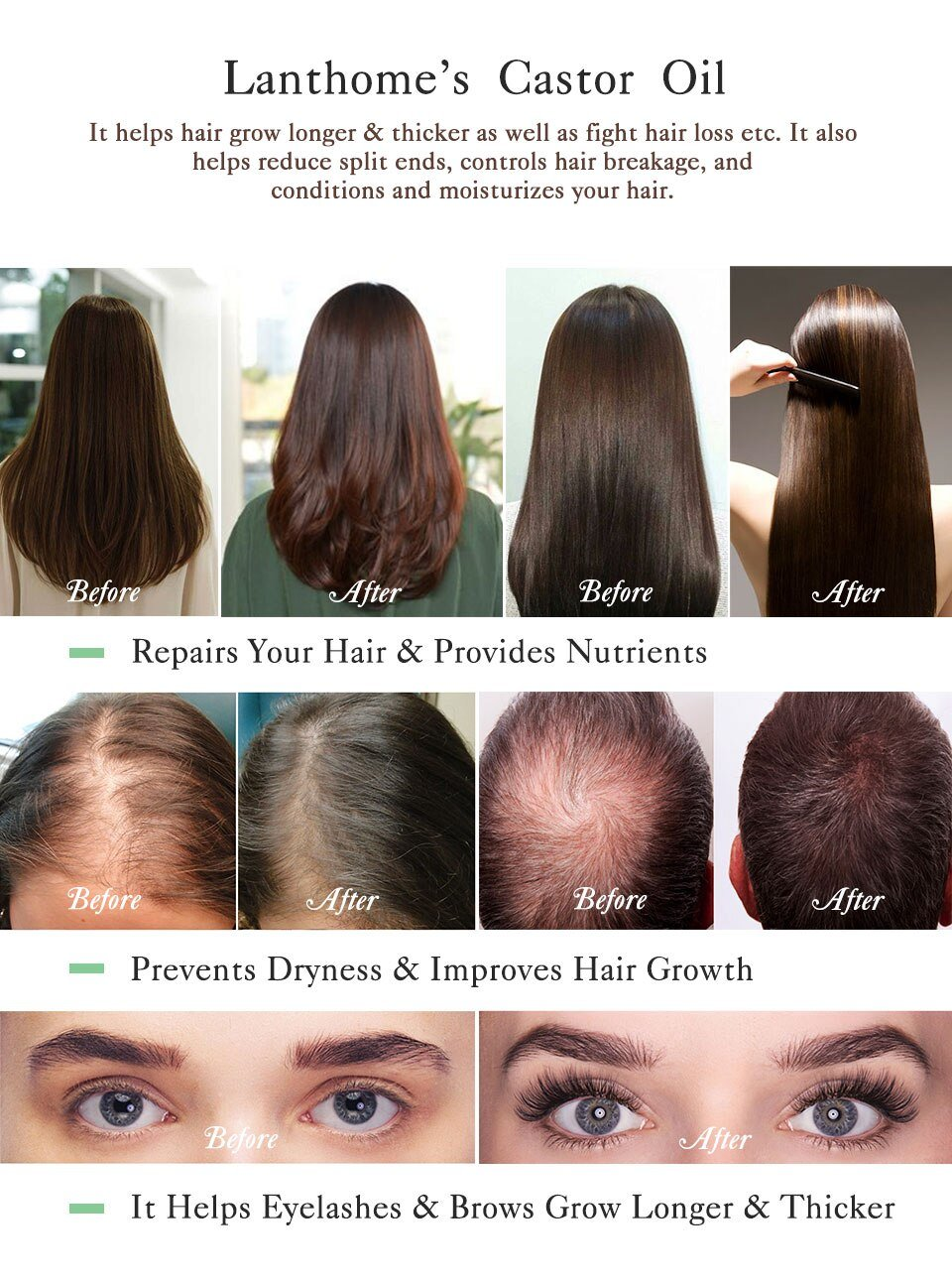 Castor Oil Hair Growth Before And After Pictures
