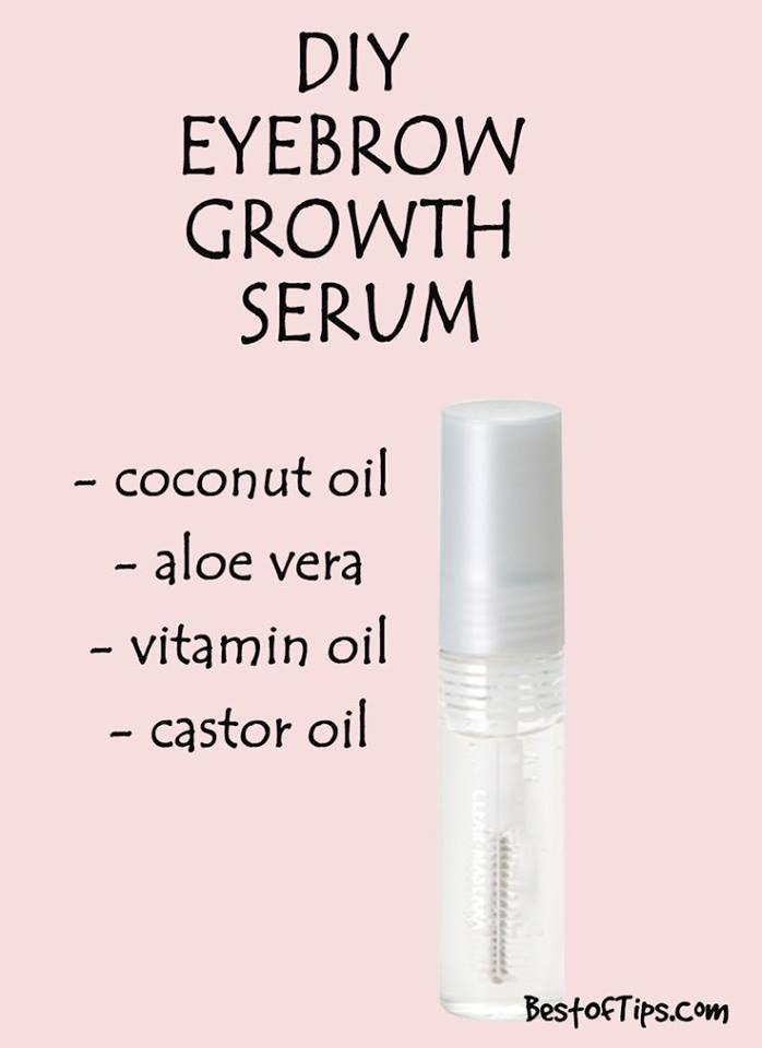 Eyebrows Growth Serum Diy