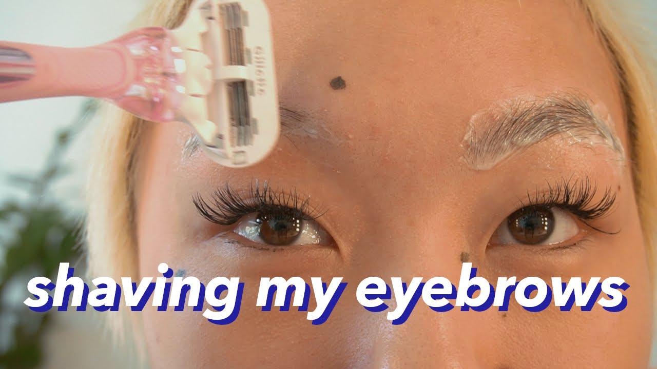 Girls Eyebrows In Quarantine