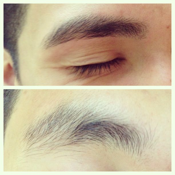 Guys Eyebrows Before And After Threading