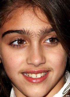 Long Hairy Eyebrows