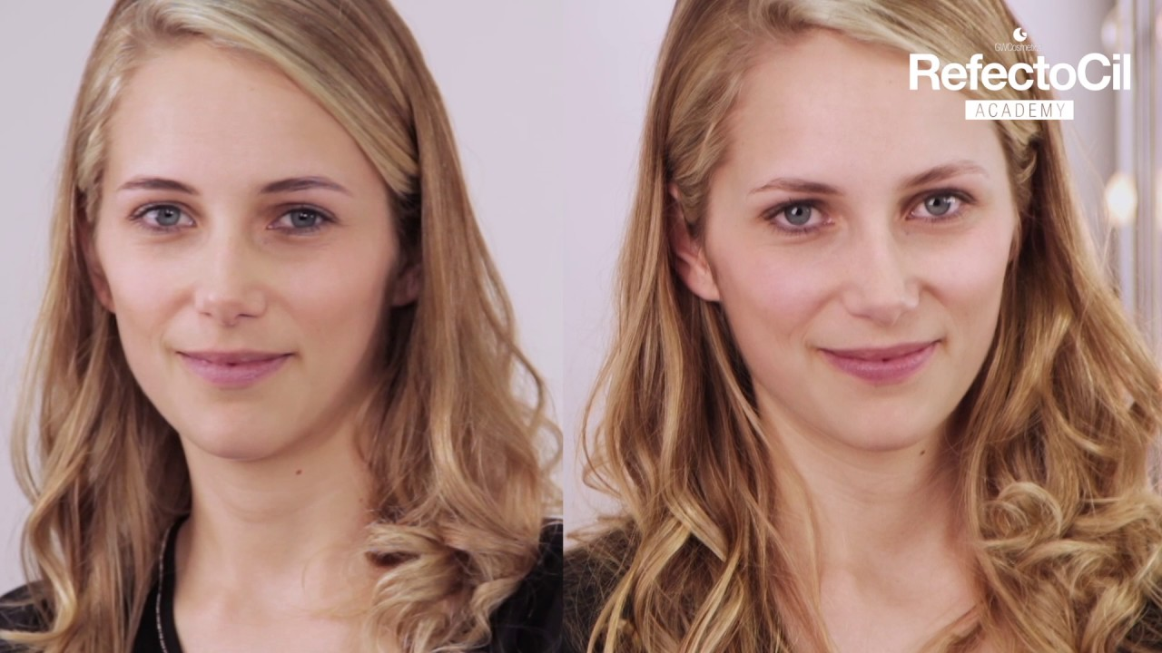 Get Before And After Eyebrow Tinting Blonde Hair Images