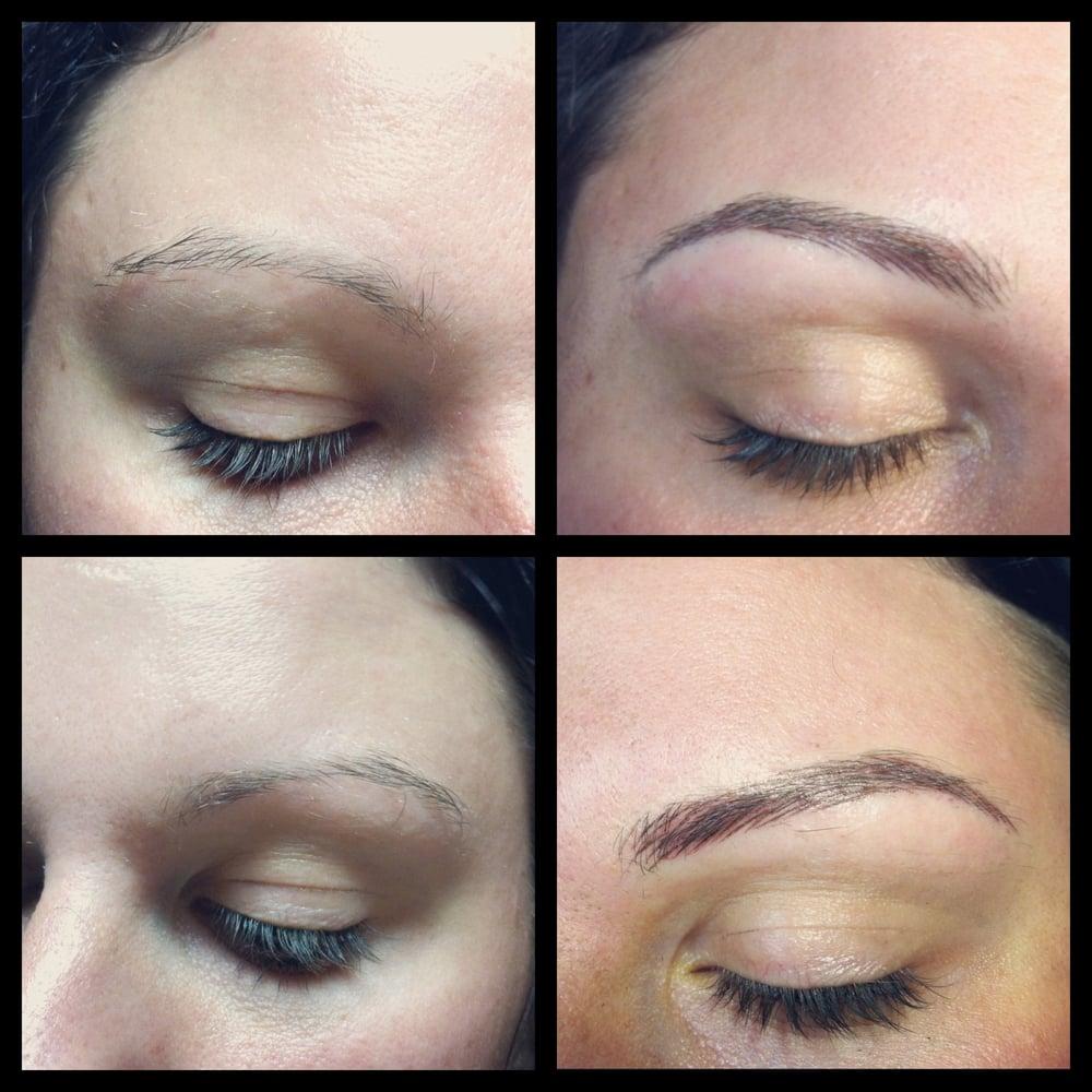 Get Eyebrows Tattoo Hair By Hair Gif