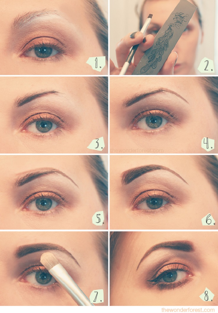 Get How To Draw Your Eyebrows Perfectly Pictures