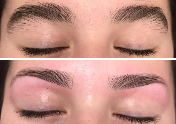 View Eyebrow Tint Before And After Pictures - Eyebrow Ideas