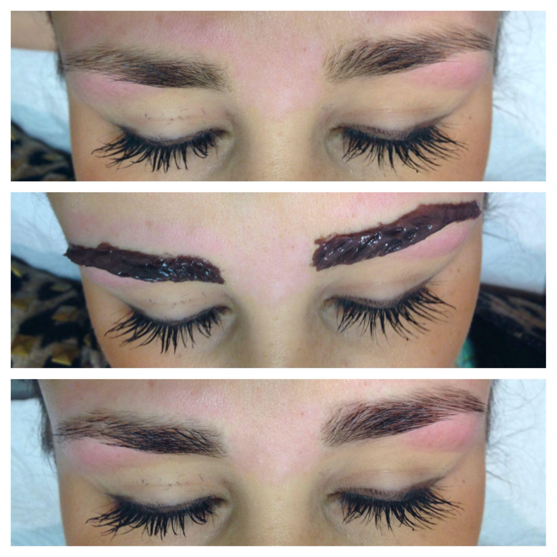 Good mat lipstick: Is eyebrow tinting permanent