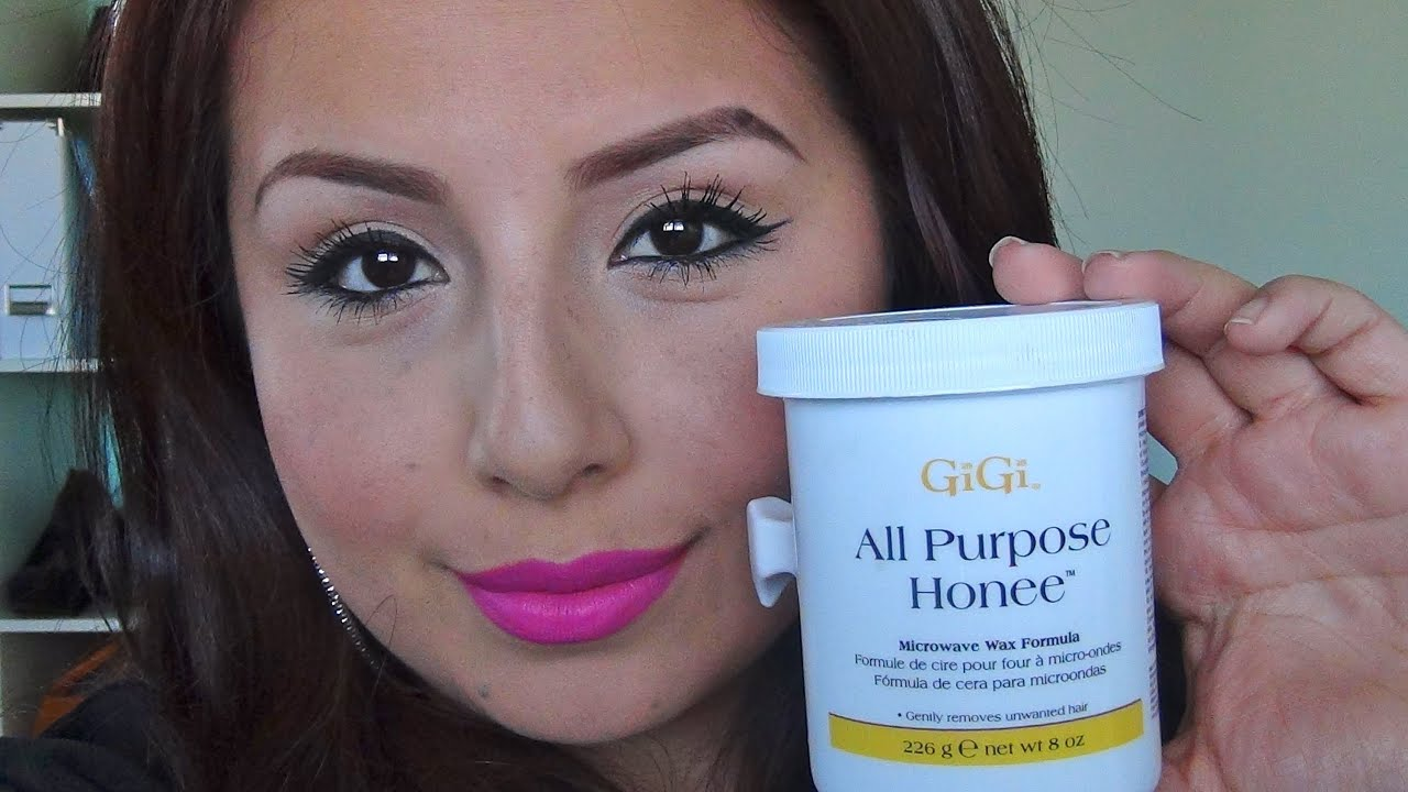 HOW TO WAX YOUR EYEBROWS AT HOME / REVIEW : GIGI ALL ...