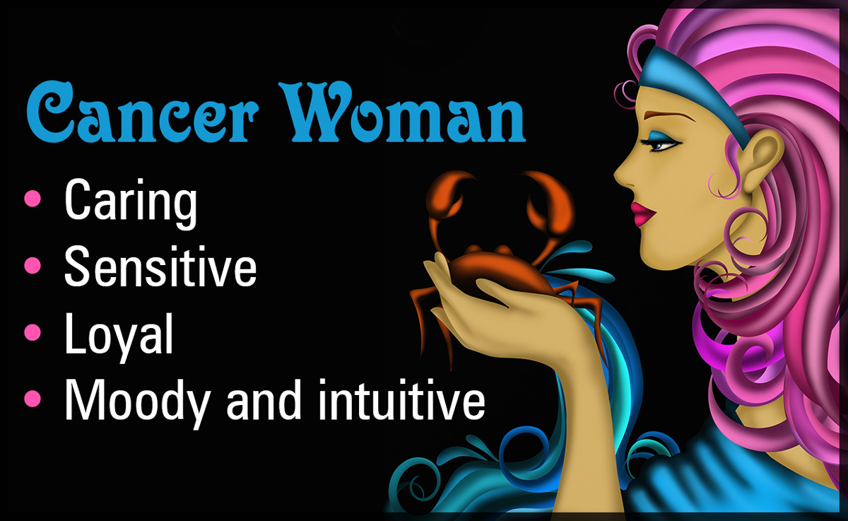 17+ Cancer Zodiac Sign Woman  PNG