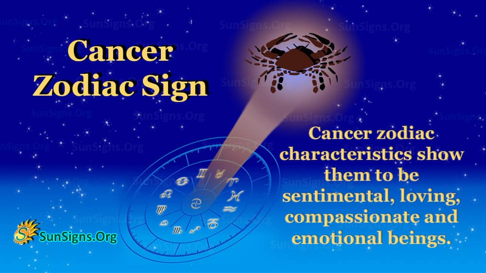 Get Cancer Zodiac Traits Personality  PNG