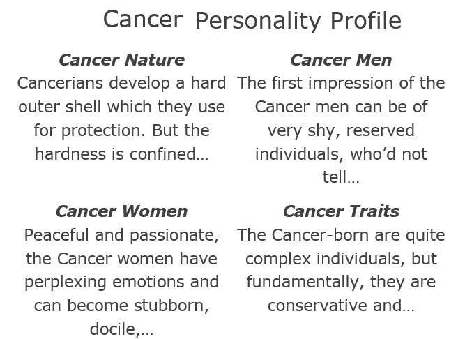 View Cancer Woman Zodiac Personality Traits  Gif