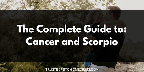 Cancer Woman Scorpio Man Love Marriage Compatibility